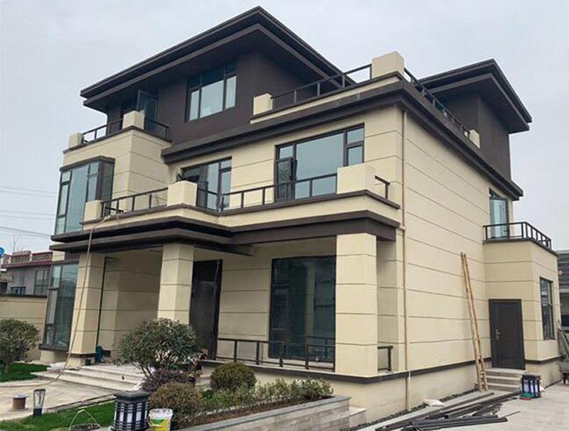 重慶農村三層輕鋼別墅