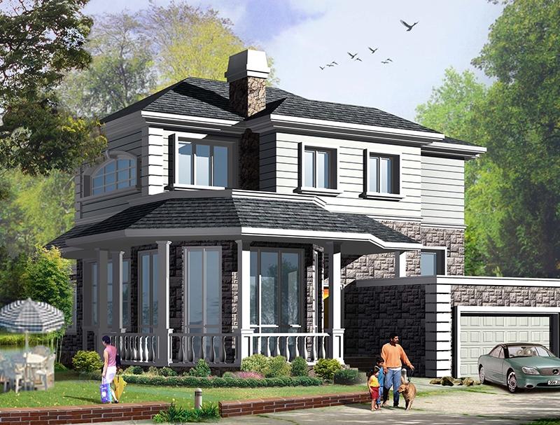 瀘州輕鋼別墅設計