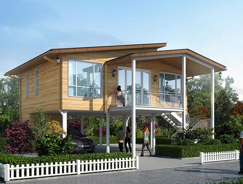 瀘州高端輕鋼結構別墅價格