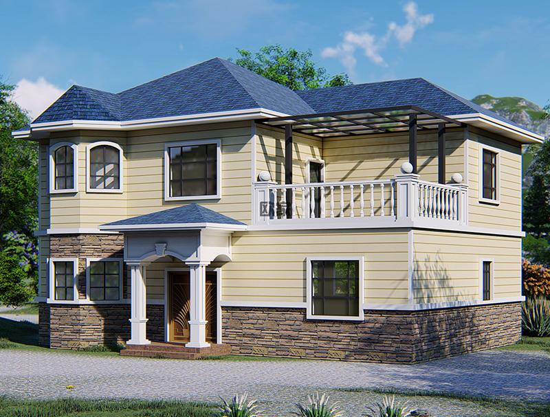 瀘州二層輕鋼別墅廠家造價